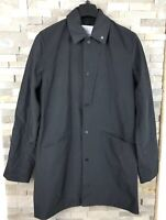 Peter Werth Mens Size S Black Trench Coat Jacket