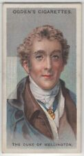 First  Duke Of Welington Soldier Battle of Waterloo 90+ Y/O Trade Ad Card
