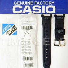 CASIO 10036568 GENUINE FACTORY PRO TREK PATHFINDER BLACK BAND FOR PRG-40 PRG-240