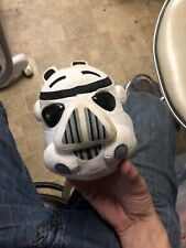 """2012 Star Wars Angry Birds Storm Trooper Plush Stuffed 5"""" Toy"""