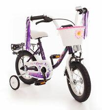 Kinderfahrrad 12 Zoll Fahrrad Kinder Mädchen Kinderrad Rad Mädchenfahrrad Lila
