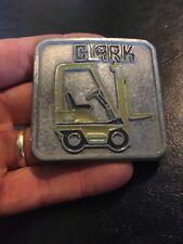 Forklift Belt Buckle Clark Caterpillar CASE John Deere New Holland Solid Metal