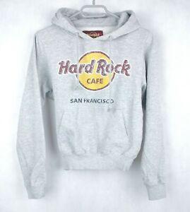 sale% HARD ROCK CAFE SAN FRANCISCO DAMEN HOODIE GR. XS KAPUZENPULLOVER