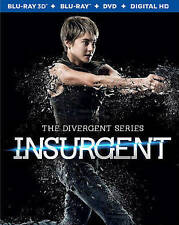 The Divergent Series: Insurgent (3D Blu-ray ONLY, 2015)