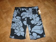 Men's Nautica Navy Floral Rip Stop Shorts Size 42 W NWT