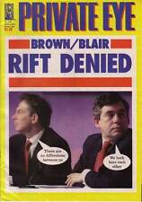 PRIVATE EYE 1042 - 30 Nov - 13 Dec 2001 - Tony Blair Gordon Brown - RIFT DENIED