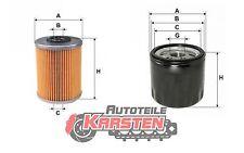 Set S: Kraftstofffilter+Ölfilter Filtersatz NISSAN RENAULT SUZUKI