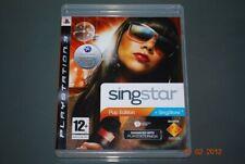 Singstar Pop Edition PS3 Playstation 3