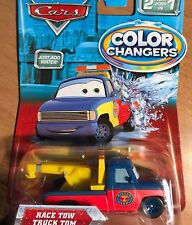 DISNEY CARS MODELLINI: RACE TOW TRUCK TOM COLOR CHANGERS