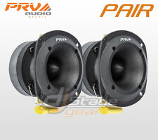 PAIR PRV Audio TW350Ti Titanium Bullet Pro or Car Super Tweeter TW350ti 8 ohms