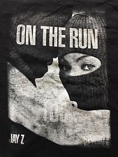 Jay Z Beyoncé 2014 On The Run Concert Shirt Adult Small Pre-owned