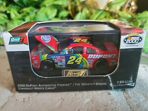JEFF GORDON #24 DUPONT MONTE CARLO 2000 REVELL 1:64 LIMITED EDITION 1 OF 7,992