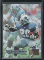 Barry Sanders 1995 Fleer Metal Card #66 Detroit Lions