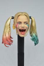 1/6 CUSTOM Suicide Squad Harley Quinn Head Sculpt For PHICEN Female Figure