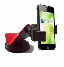Onyx Cell Phone Car Mount Compatible with Apple iPhone 6S, Samsung Galaxy...