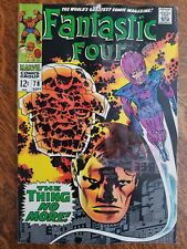 Fantastic Four (1961) #78 - Fair, water dam - low grade reader copy