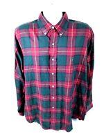 Ralph Lauren Blake Mens XL Long Sleeve Button Front Multicolor Plaid Shirt
