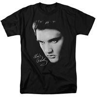 Elvis Presley FACE Licensed Adult T-Shirt All Sizes