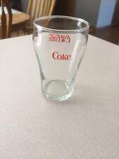 "Coca Cola 4oz Juice Glass. 4"" Tall"