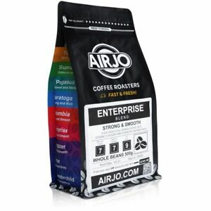 Coffee Beans by AIRJO - Enterprise Blend - (STRONG & SMOOTH)