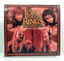 Lord of the Rings The Two Towers 2003 16 month Calendar