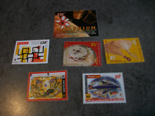 LOT 6 TIMBRES NEUFS POLYNESIE FRANCAISE(2000)/Y.T.N°627/628/629/613 612/630