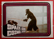 Space / Cosmo 1999 - Monty Gum - Card #34 - France 1976