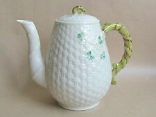 BELLEEK SHAMROCK COFFEE POT (Ref5415)