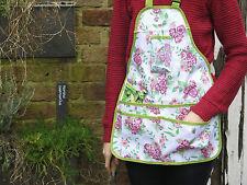 Ladies Girl Rose Floral Flower Gardening Apron. Kitchen Garden Allotment Wear.