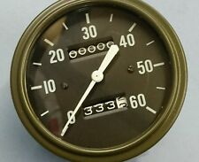 WILLYS MB SLAT GRILL AND DODGE SPEEDOMETER CORRECT FONTS AND LUMINOUS NEEDLE