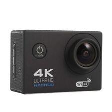HAMTOD H9A HD 4K WiFi Sport Camera with Waterproof Case, 2.0 inch LCD Screen