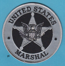 US MARSHAL SHOULDER PATCH POLICE GRAY 4""