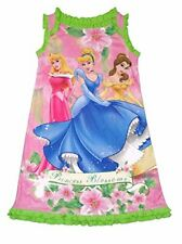 Disney Princess Girl's Princess Blossoms Nightgown, Size Xs 4