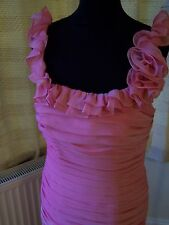 Symphony by Venus Bridesmaid/Occasional dress in Rose Size 12 cruise