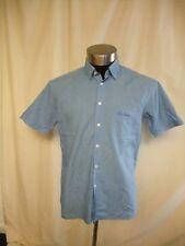 "Mens Shirt Thomas Burberry XL sky blue cotton blend, pit2pit 22"", summer 7244"