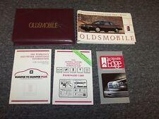1991 Oldsmobile Cutlass Ciera & Cruiser Sedan Owner's Owner Guide Manual Set