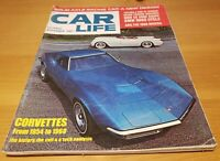 Car Life Magazine Corvettes BMW CS 2000 Coupe November 1967