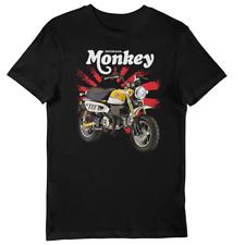 Honda Monkey Bike (yellow) Rising Sun UNISEX Short Sleeve T-Shirt