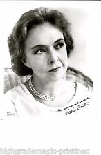 """LILLIAN GISH (DECEASED) SIGNED 8X10 """"GREATEST ACTRESS"""" INSCRIBED JSA #38943"""