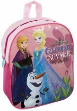 Disney Frozen Celebración verano Anna Elsa y Olaf escuela mochila Rosa color