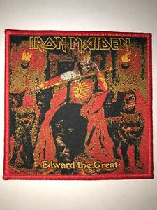 Iron Maiden Edward patch