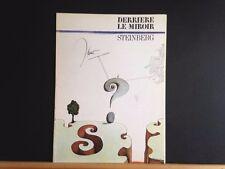 Saul Steinberg lithographs, Derriere le Miroir#157, Maeght 1966 INV2117