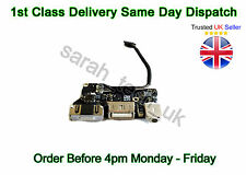 "Apple MACBOOK AIR 13"" A1466 USB / POWER DC JACK AUDIO BOARD 2013/2014 820-3455-A"