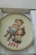 1993 H,I. Hummel Collectible plate goebel. In original packaging and box