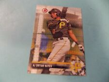 KE'BRYAN HAYES 2017 Bowman RC ROOKIE CARD  PIRATES   BP105   Bradenton Marauders