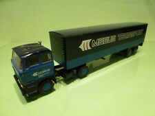 LION CAR  1:50  DAF TRUCK  MEEUS TRANSPORT  HOLLAND  - CAR IN GOOD CONDITION