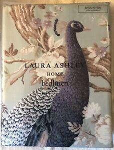 Laura Ashley King Size Duvet Cover : Belvedere, Duck Egg (New)