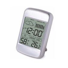 Station Météo Intérieur Thermomètre Numérique Hygromètre Alarme Snooze Horloge