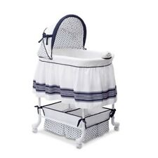 New ListingBaby Glider Bassinet Infant Newborn Rocking Crib Cradle Nursery Center Furniture