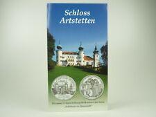 *** 10 EURO Gedenkmünze ÖSTERREICH 2004 Schloss Artstetten im Folder Silber ***